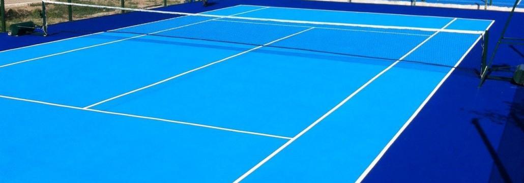 Теннисный корт в КазГерМунай