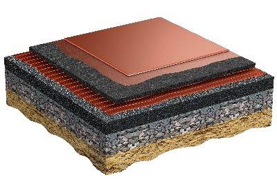 Regupol AG - Этап установки 5: Нанесение жидкого полиуретанового покрытия