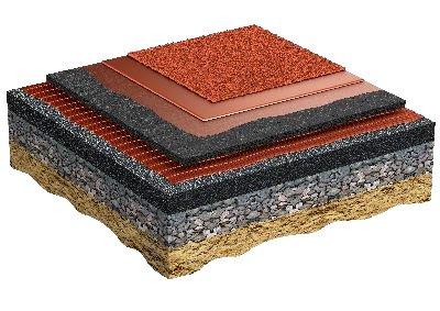 Regupol AG - Этап установки 6: Беговая поверхность из резиновых гранул EPDM