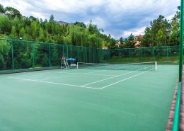 Теннисные корты в СРК Баганашыл