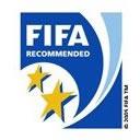 Качество футбольного покрытия соответствует стандарту ФИФА 2 звезды