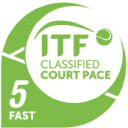 Рейтинг скорости покрытия ITF: 5 - Быстрый