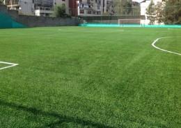 Футбольное поле в СРК Баганашил