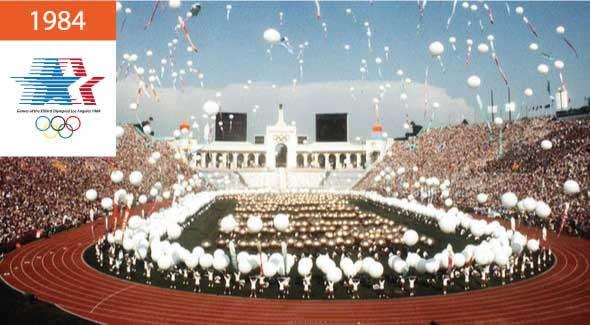 Летние Олимпийские игры 1984 Лос-Анджелес