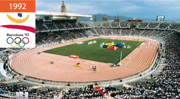 Летние Олимпийские игры 1992 Барселона
