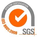 SGS ISO 9001 утвержденная система качества