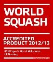 Аккредитованный продукт Всемирной федерацией сквоша