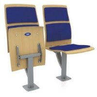 Кресло складное полумягкое Силуэт-М