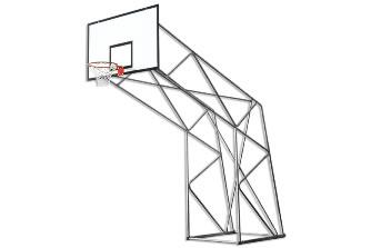 Уличная баскетбольная стойка: S04020