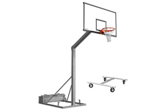 Уличная баскетбольная стойка: S04038