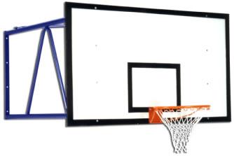Настенный баскетбольный щит: S04056