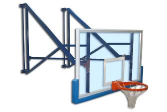 Настенный баскетбольный щит: S04060