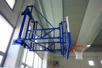 Настенный баскетбольный щит: S04066
