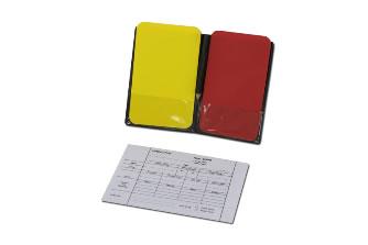 Карточки судейские для футбола: S04452