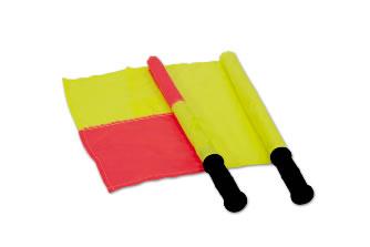 Флаги футбольные судейские: S04456