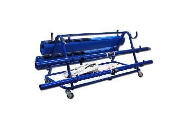 Тележка для перевозки волейбольного оборудования: S04770
