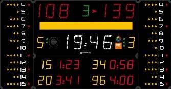 Универсальное табло: 452 MB 3123 FIBA