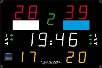 Спортивное табло для ватерполо: 452 PB 3000