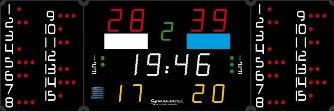 Спортивное табло для ватерполо: 452 PB 3020