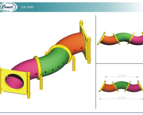 Туннели детские: CA1000