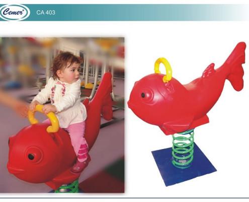 Детская качалка на пружине: CA403