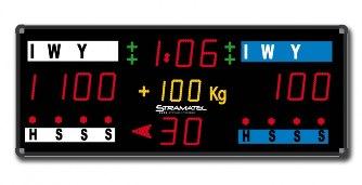 Спортивное табло для дзюдо: CJM