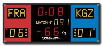Спортивное табло для борьбы: CLF