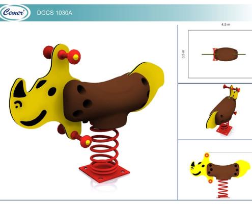 Детская качалка на пружине: DGCS1030A