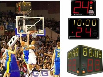 Универсальное табло: SC 24 FIBA