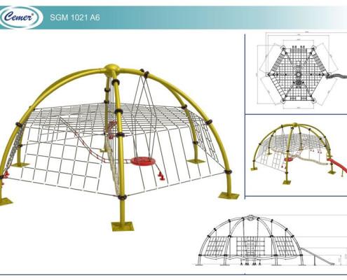 Паутинообразная игровая конструкция: SGM1021A6