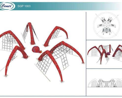 Паутинообразная игровая конструкция: SGP1003