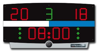 Спортивное табло для ватерполо: W-TOP