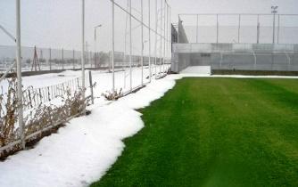 Подогрев футбольного поля