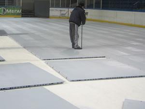 Защитное покрытие для ледовых арен