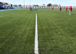 Футбольное поле в с.им. Наги Ильясова