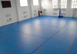 Спортивный зал при стадионе в с.им. Наги Ильясова