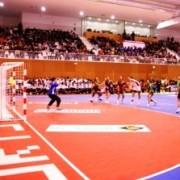 Пластиковое покрытие для крытых спортивных залов