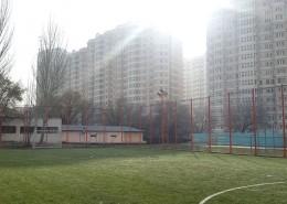 Мини-футбольное поле с 3D ограждением в колледже при КазНАИ им. Т.К. Жургенова