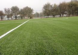 Футбольное поле в селе Аккайнар