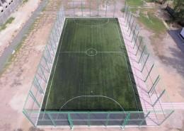 Мини-футбольное поле в школе им. С. Керимбека
