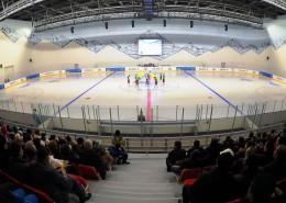 Малая арена ледового дворца «Алматы Арена»