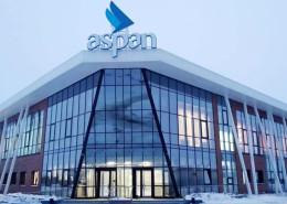 Открытие спортивного центра Aspan