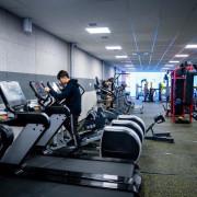 Тренажерный зал в спортивном центре Aspan