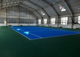 Теннисный хард корт в санатории Березка